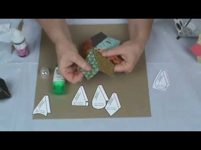 Tutorial Showing How To Make All Kinds of Paper Umbrellas