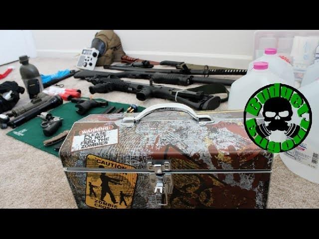 Zombie Apocalypse Survival Kit