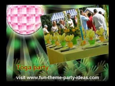 30th Birthday Party Ideas For a Big 3-0 Bash