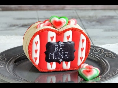 3D VALENTINE'S DAY HEART BOX COOKIES, HANIELA'S