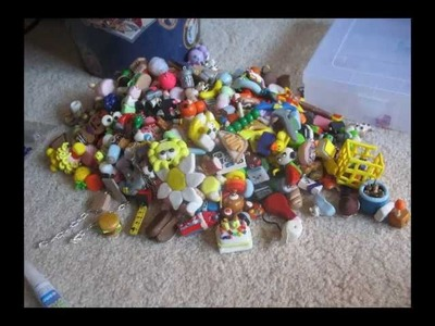 All of my polymer clay charms as of Oct.21.2011