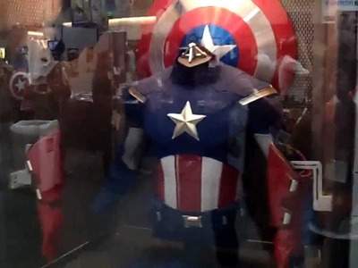 Avengers Captain America Costume at SDCC