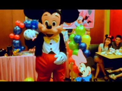 Bielle's 3rd Birthday MTV (A 'Mickey Mouse' themed birthday party) - December 18, 2011