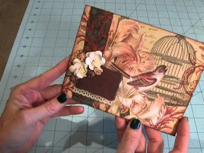 Card Made Using A Paper Napkin