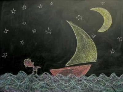 Chalkboard Stop Frame Animation, Johnny and June by The Hours