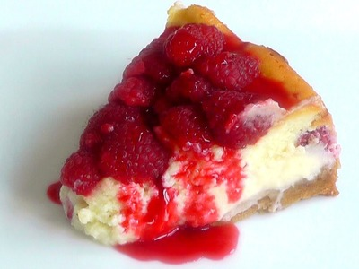 Christmas dessert Raspberry Cheese Cake How to Make Recipe