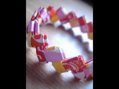 ❇Close up: Make a Starburst Bracelet 2❇