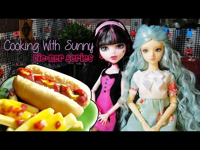 """[CWS] Polymer Clay Tutorial """"Hot Dog and Fries"""""""