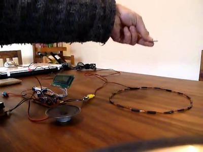 Detector de Metales (Kit para armar) DIY PI Metal detector