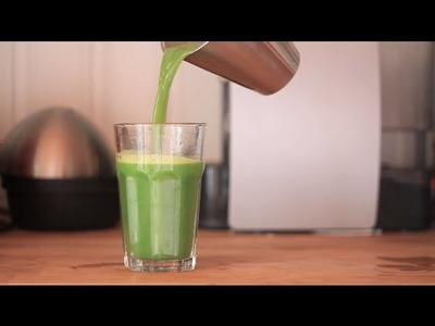 Diabetes diet - How to make Green juice without a juicer