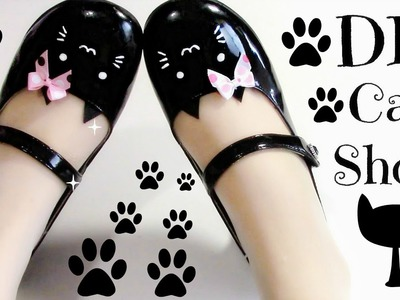 DIY Cat Shoes (Easy) Meow Meow