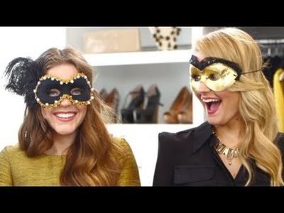 DIY Halloween Mask For a Masquerade Ball