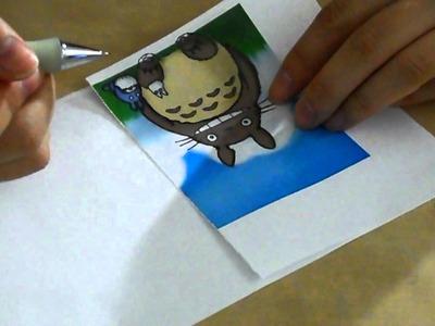 DIY mug painting basics: drawing the picture with no drawing skills