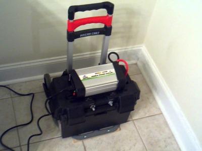 DIY - Portable Solar Power -  The Practical Freezer Test - PART 2