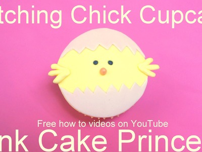 Easter Cupcakes - How to Make a Chick Hatching Cupcake