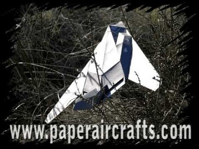 F-117 Paper Airplane
