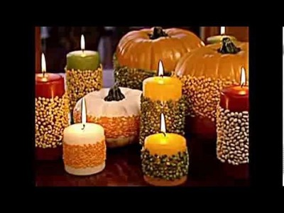 Fall decorations -- Simple, easy to do, beautiful ideas