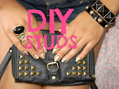 Fashion Trends: DIY Studs