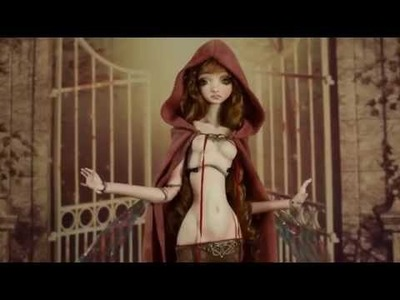 Fine Art Porcelain Ball Jointed Dolls BJD Dolls by Forgotten Hearts. Animation Stop Motion.