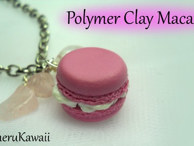 French Macaron charm - Polymer clay tutorial