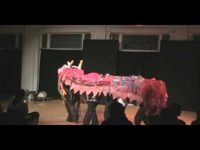 Fun Hand Made Paper Mache Giant Puppet Chinese Dragon Dance