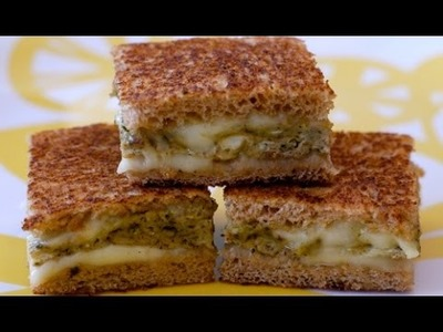 Grilled Cheese with Egg and Pesto Recipe - Lunch Ideas for School - Weelicious