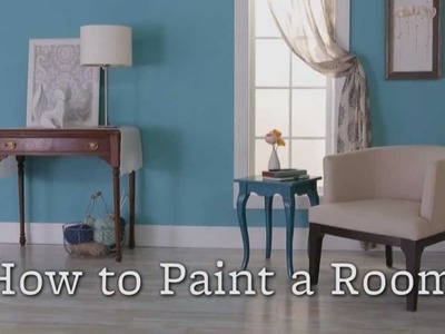 Home Decorating -- How to Paint a Room