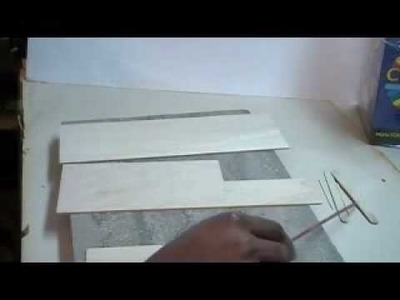 How to Build Scale WOODEN Structures part 1