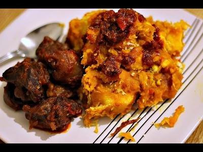 How to Cook Nigerian Yam Porridge (Asaro) | Nigerian Food Recipes