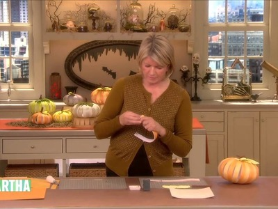 How to Create Paper Pumpkins ⎢Martha Stewart