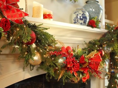How to Decorate Your Holiday Mantel video