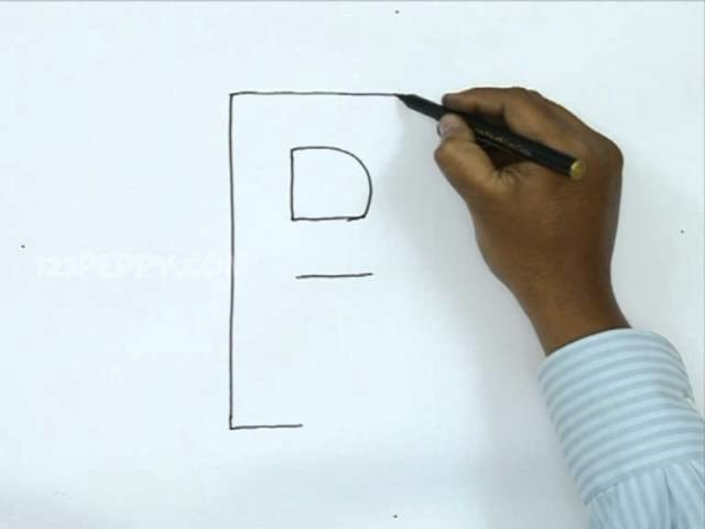 How to Draw R In 3D