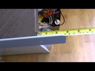 How to fit a kitchen worktop end cap - edging strip