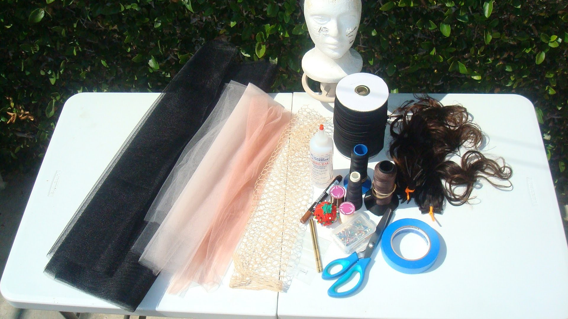 How To Make a Basic Wig Cap
