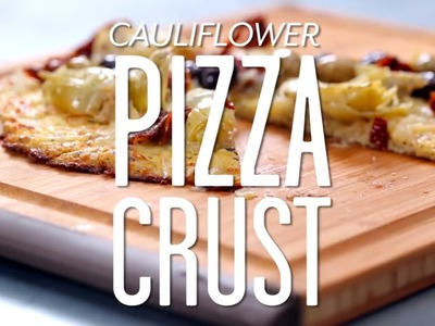 How to Make a Cauliflower Pizza Crust | MyRecipes
