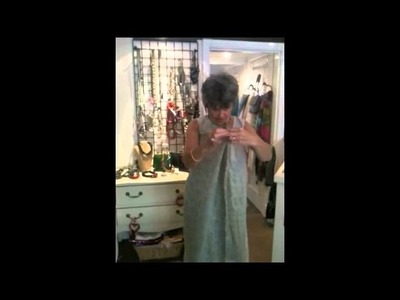 How to make a jacket out of a scarf