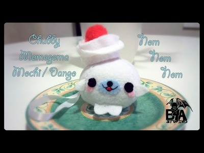 How To Make A Kawaii Chubby Mamegoma Mochi Plushie Tutorial