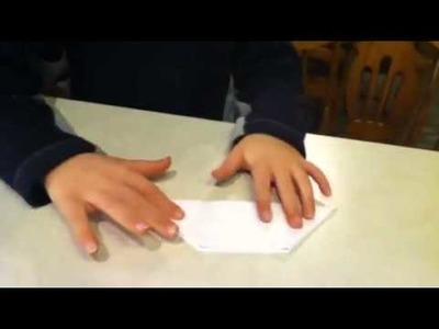 How to make a paper bird beak
