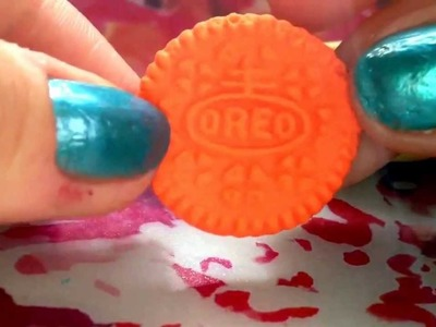 How To Make A Polymer Clay Oreo.Friendship Charm!