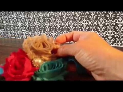 How to make a Shabby Chic Baby Heaband