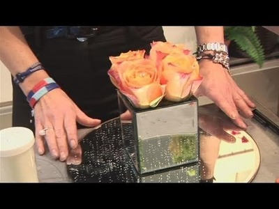 How To Make A Square Of Wedding Roses