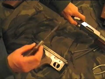 How to make a Thompson SMG PT3 of 4