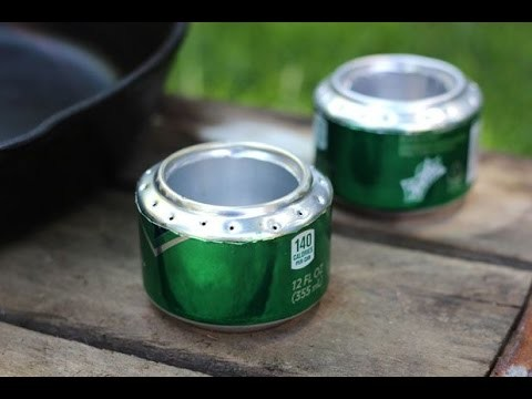 How To Make An Amazing Camping Portable Stove with Soda Can