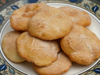 How To Make Bunuelos - A Mexican Pastry With Cinnamon And Sugar