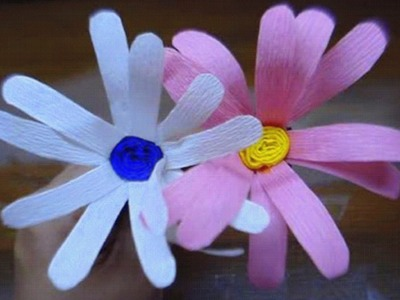 How to make paper flower - Daisy