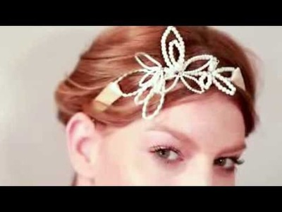 How To Make Pearl Wedding Hair Accessories