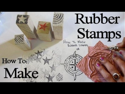 How to Make Rubber Stamps and Block Carvings