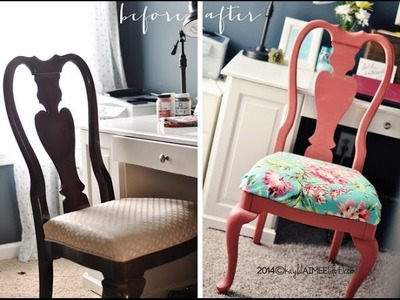How To: Paint And Seal Furniture with Home Decor Chalk paint + Wax