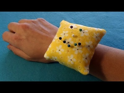 How to Sew a Wrist Pin Cushion Steps 1-3 (Part 1 of 3)