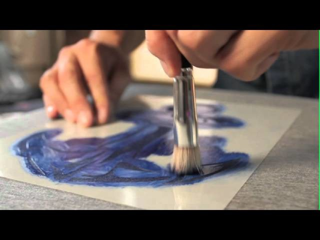 How to stencil t-shirts